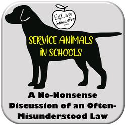 Service Animals in Schools