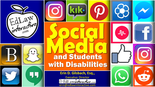 Social Media and Students with Disabilit