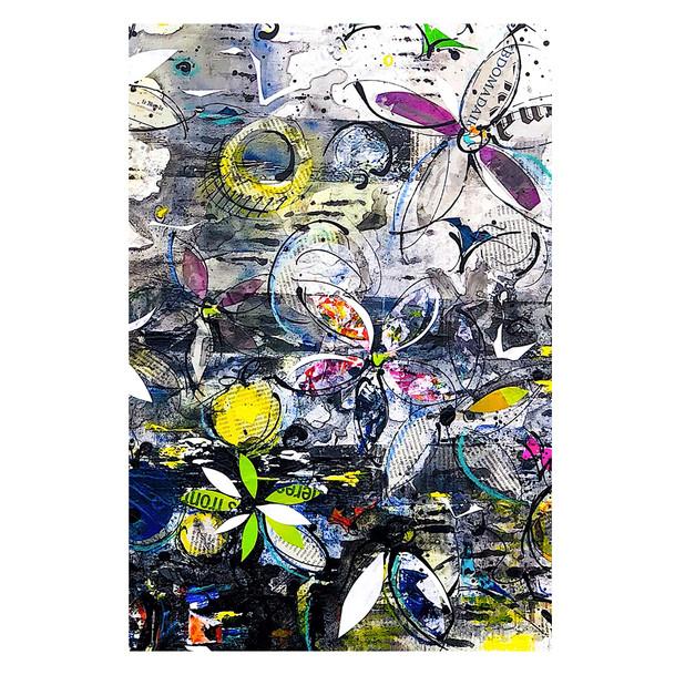 Mémoire de lumière, 80x80