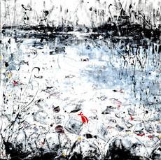 Poissons, clarté matinale - 120 x 80
