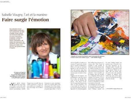 Article - Isabelle VOUGNY : Faire surgir l'émotion