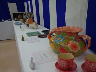 シンポ陶芸アカデミー作品展終了しました。