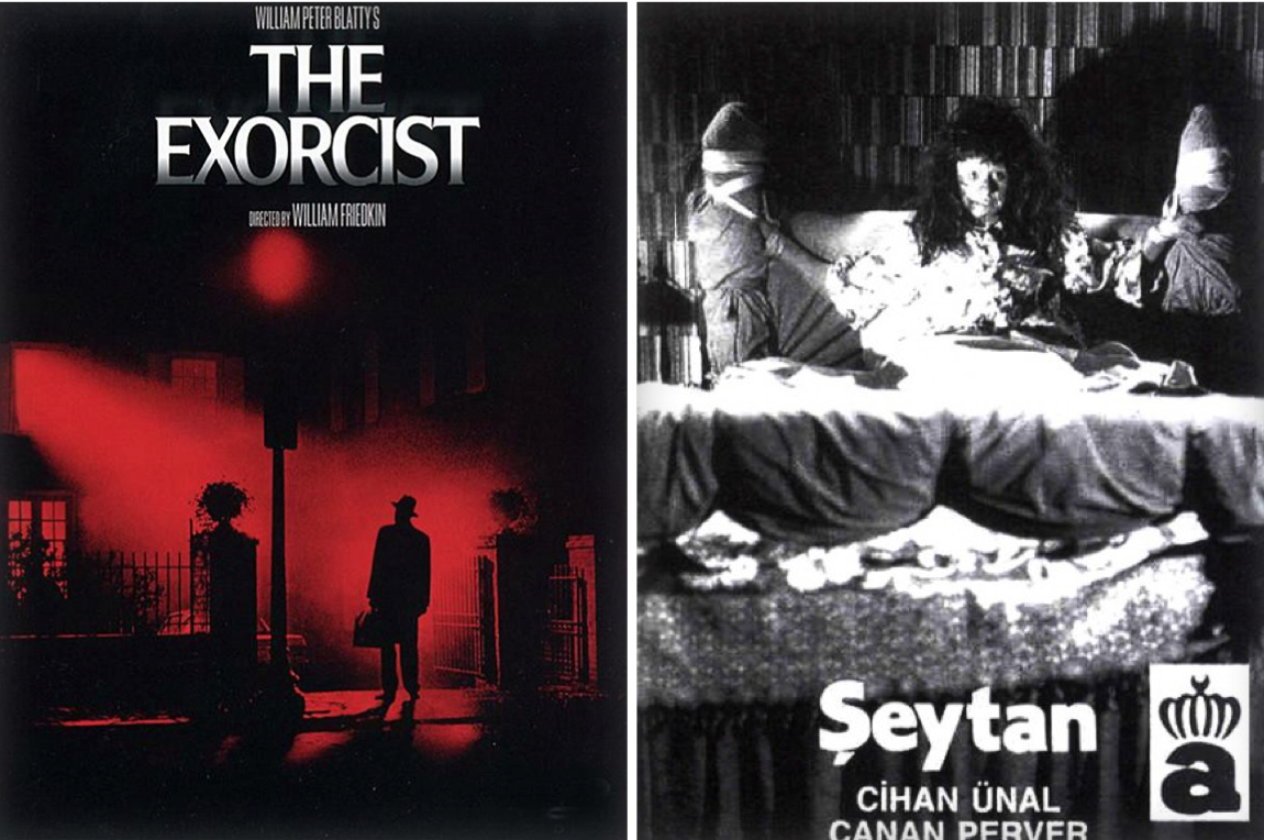 'The Exorcist' and 'Seytan' (1974)