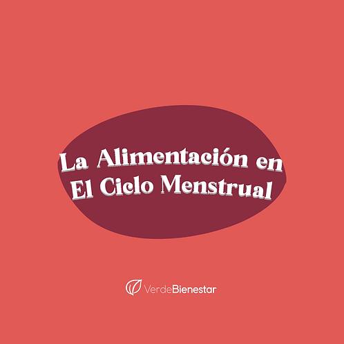 Curso Alimentación y Ciclo Menstrual