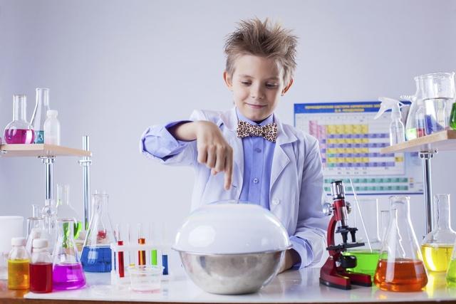 Химия для детей 7-9 лет