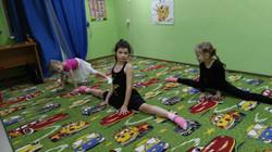 Занятия по гимнастике