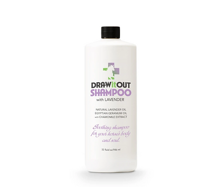 Draw it out soothing shampoo withlavender