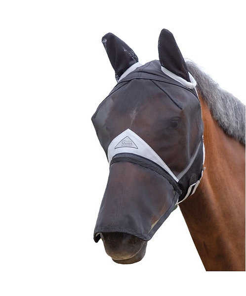 Full Face Fly Mask With Nose