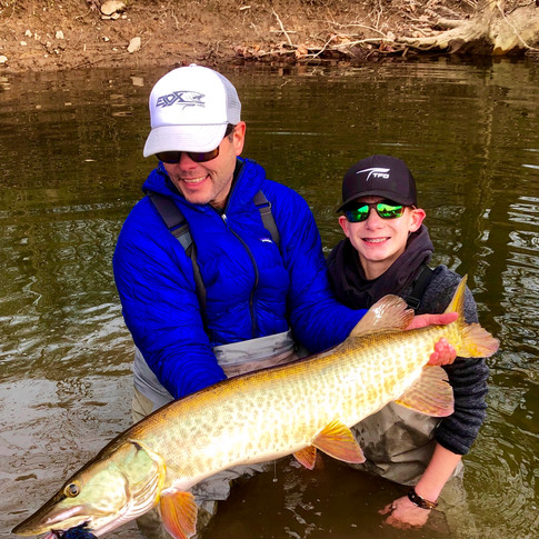 My First Musky Caught with  Blane Chocklett