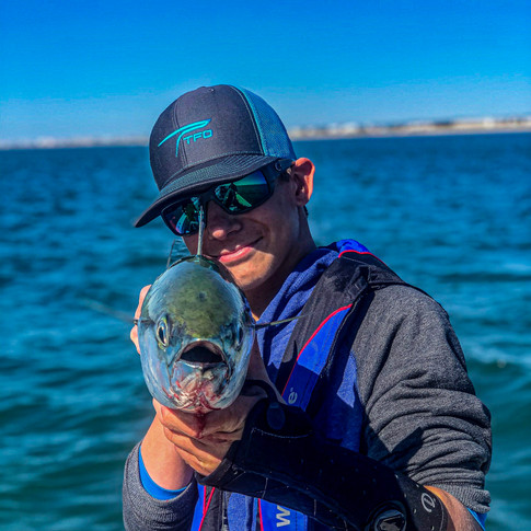 Fly Fishing with Jake Jordan out of Atlantic Beach, NC