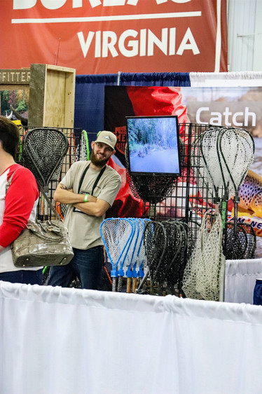 Beau Robinson with Catch Cam Nets. If you haven't checked these nets out you really should.