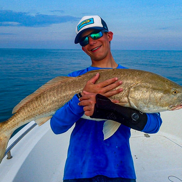 Fly Fishing off the Crystal Coast in NC with Andrew Campbell