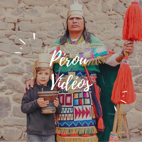 Pérou videos