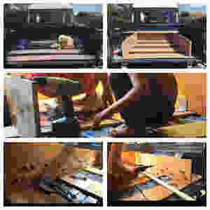 La construction des tiroirs