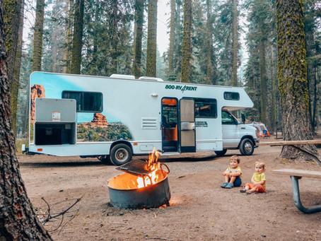 Road trip en Camping car dans l'Ouest Américain en famille
