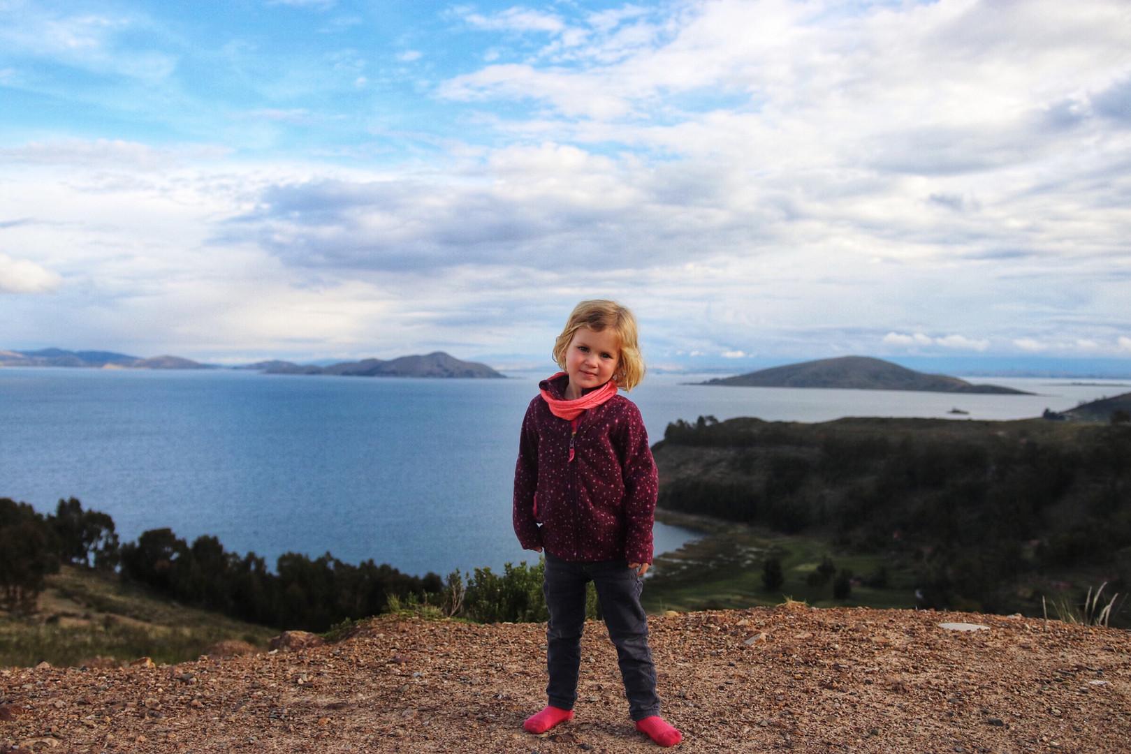Le lac Titicaca en famille