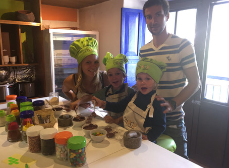 Cusco avec des enfants, le Choco Museo // Cusco with kids, the Choco Museo