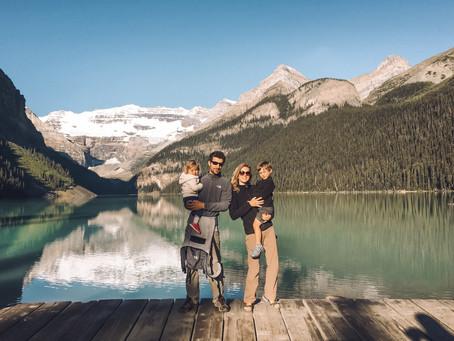 Road trip dans l'Ouest Canadien en famille