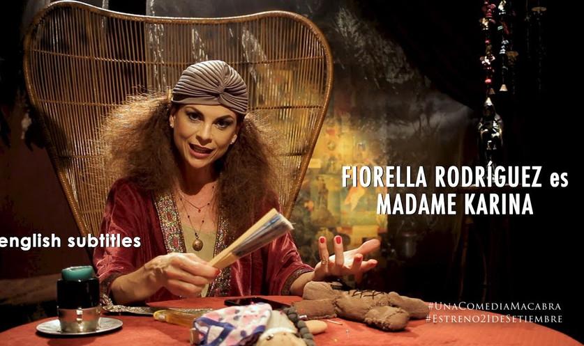 Fiorella Rodríguez es Madame Karina