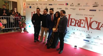 Avant Premiere de Herencia, La Película