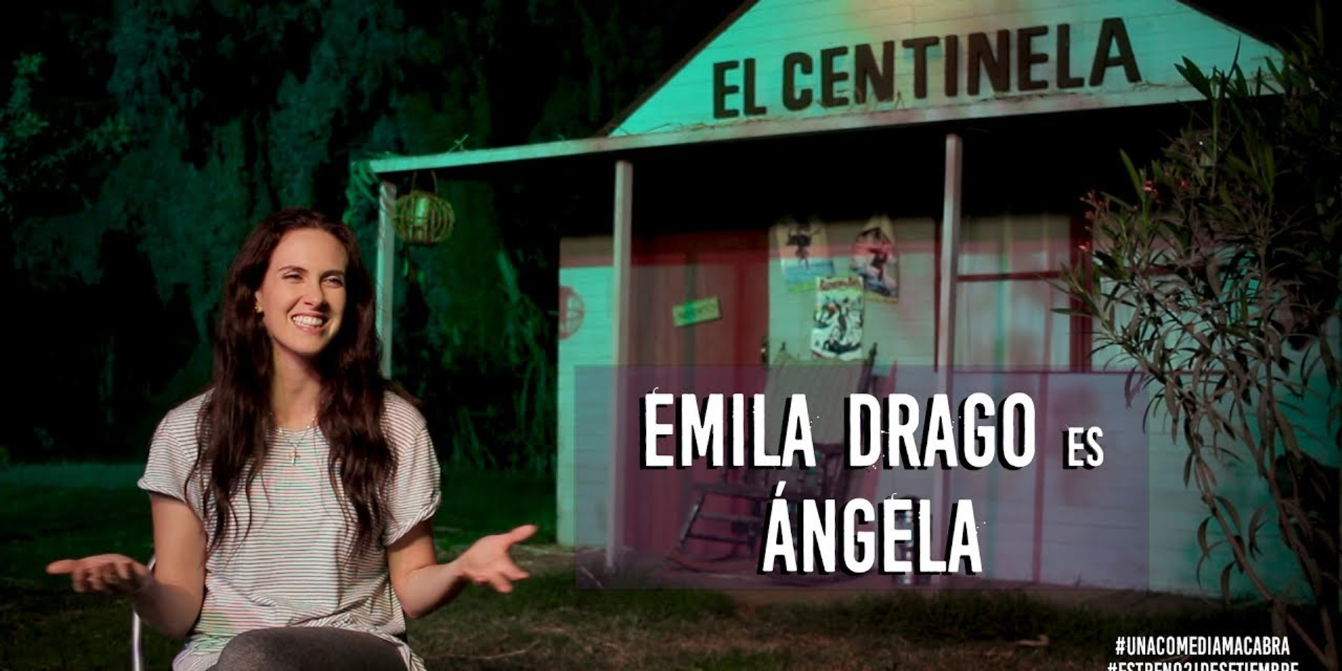 Emilia Drago es Ángela