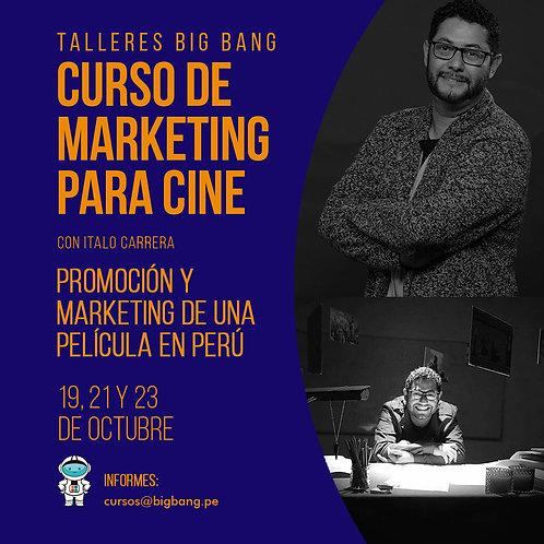 Curso de Marketing para Cine