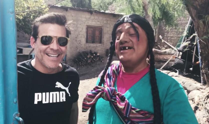 Adolfo Aguilar y la Paisana Jacinta