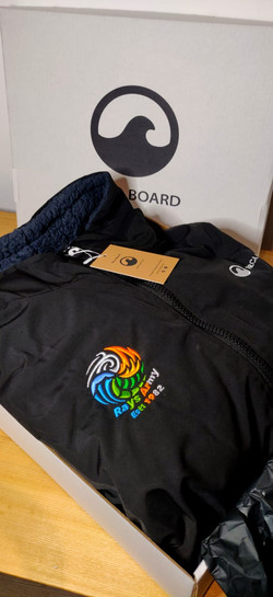 Personalised Orca Robe with Logo