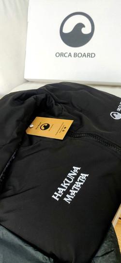 Personalised Orca Robe with Hakuna Matata