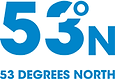 53 Degrees North Logo