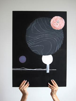 Echange de bulles dans l'extraterrestre