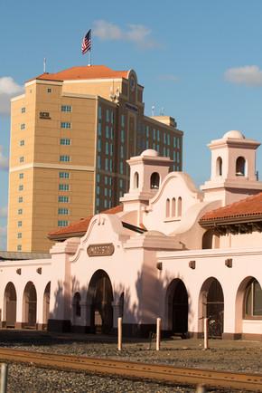 Modesto Transportation Center, Doubletree Hotel