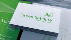 green satellite