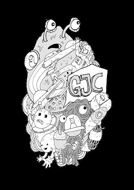 GJC Star Child Screen Print T-Shirt