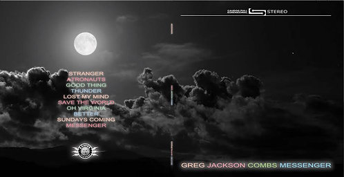 Greg Jackson Combs: Messenger CD