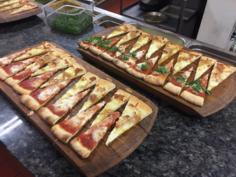 assorted pizza slices