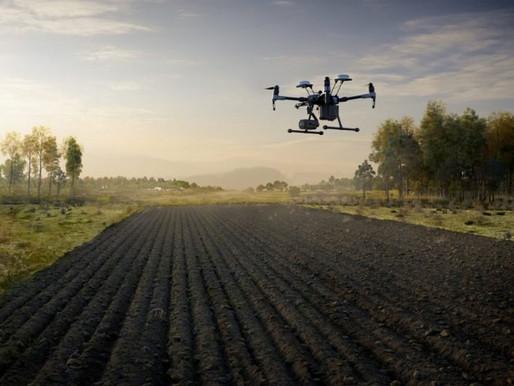 A utilização de drones no mapeamento de terras