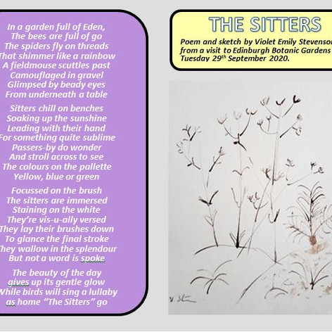 The Sitters by Emily Stevenson
