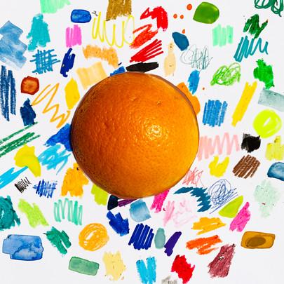 WOW Orange by Naomi Garriock