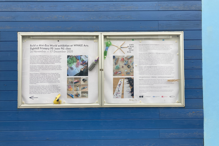 Build A Mini Eco World- Sighthill Primary at WHALEArts