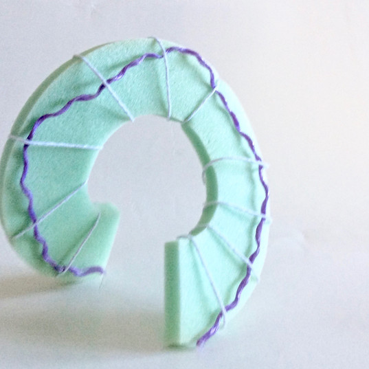 Exploring intuitive making with foam
