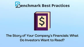 The Story of Your Company's Financials: What Do Investors Want to Read?
