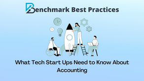 What Tech Start Ups Need to Know About Accounting