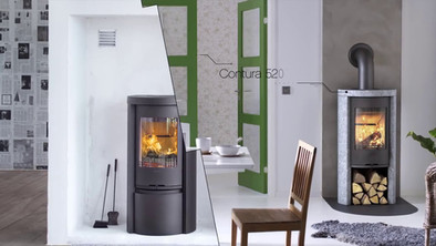 Contura 500 - The world-s most popular stove
