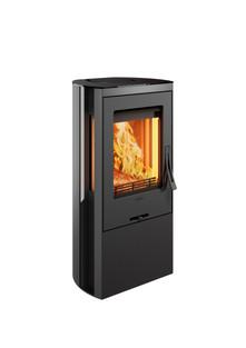 Contura 35L black, cast-iron door