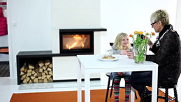 Contura i31 and i41 - Fireplace with the feeling of an open fire