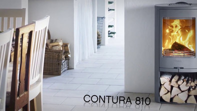Contura 800 - A large stove in compact form