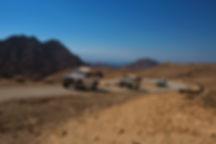 Jeep Safari in negev desert