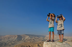 Negev Bird Watching Family