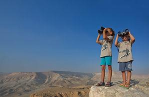 Negev Bird Watching Family